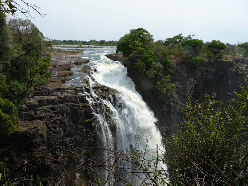 Victoria Falls Devil's Cataract